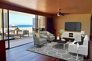 MLS # 202000252 : 1860 ALA MOANA BOULEVARD #PH2004