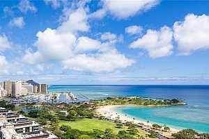 MLS # 202011687 : 1350 ALA MOANA BOULEVARD #PH6