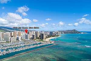 MLS # 202014901 : 1777 ALA MOANA BOULEVARD #PH2604